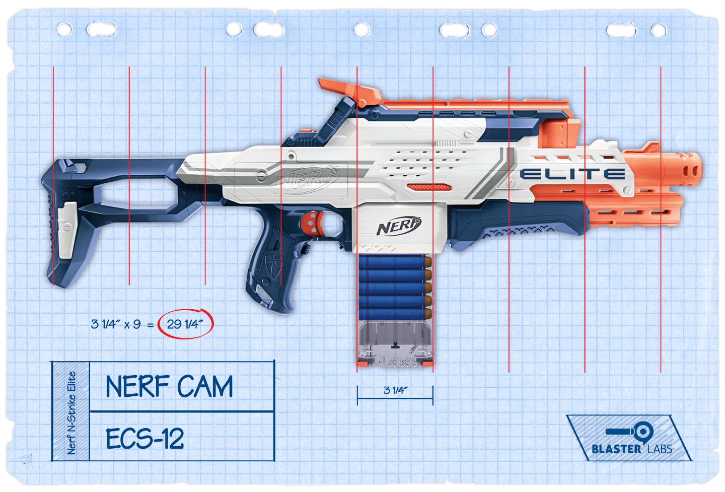 Cam ECS-12 Tech | Tech Overview | Nerf N-Strike Elite | Nerf