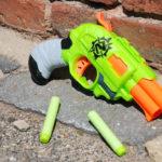 Doublestrike Blaster - Zombie Strike - Nerf - Hasbro