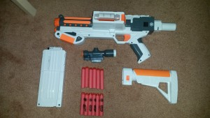 Full Deluxe Blaster package.