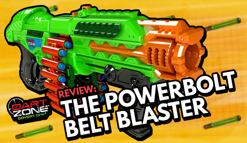 Dart Zone Powerbolt Belt Blaster - Header