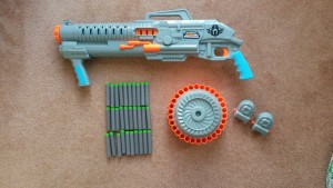Full Sidewinder kit.