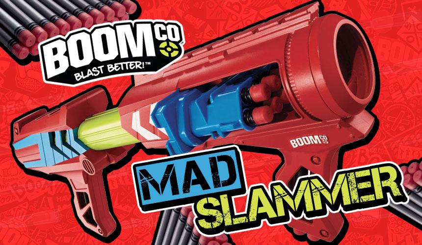 Mad Slammer - BOOMco - Header