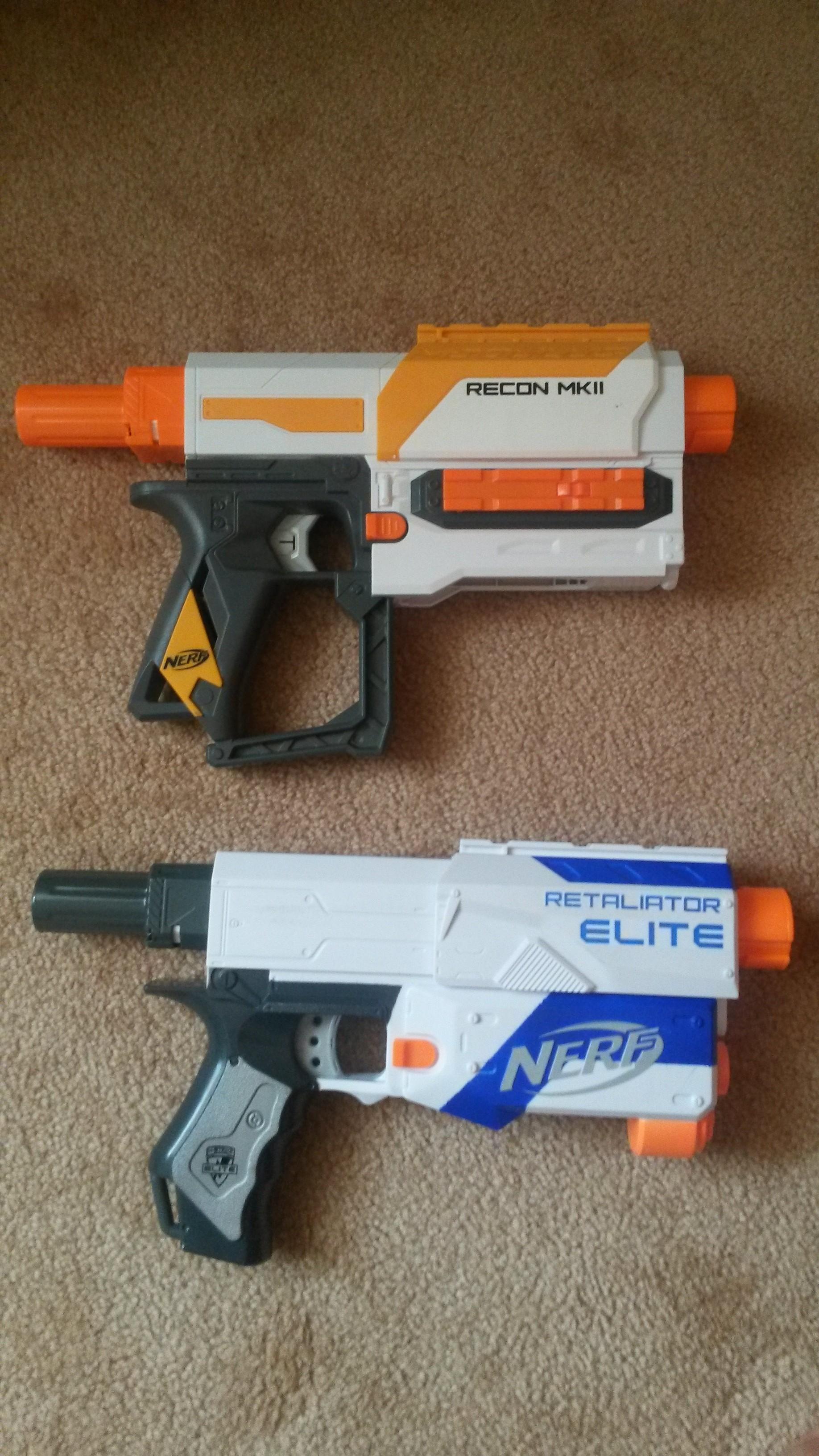 Review Nerf Modulus Recon Mkii 21m Aus Grey Trigger