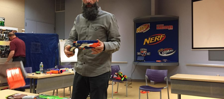Nerf Prototype Samples