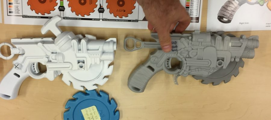 Nerf ZS Crosscut Prototypes