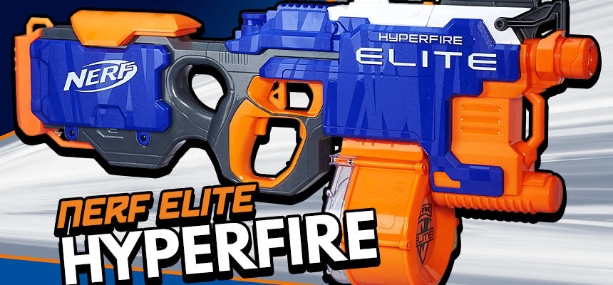 Nerf Elite Hyperfire | Review | Header