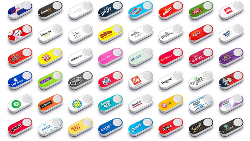 Amazon Dash Button Collection