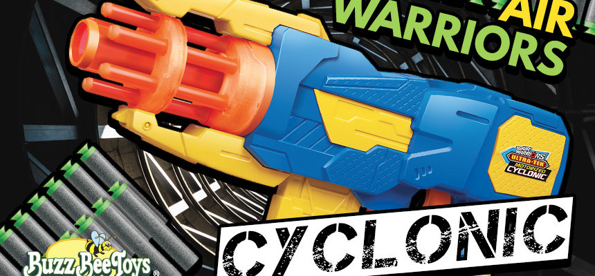 Buzz Bee Air Warriors Cyclonic | Header