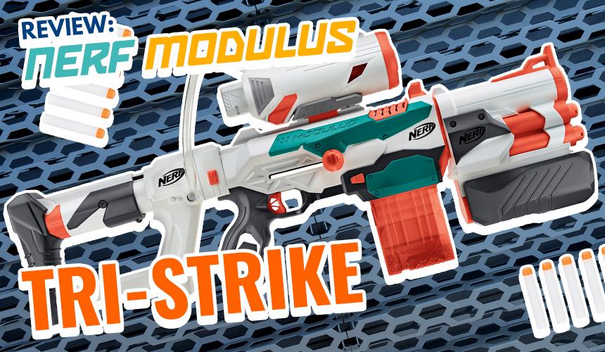 Nerf Modulus Tri-Strike | Header