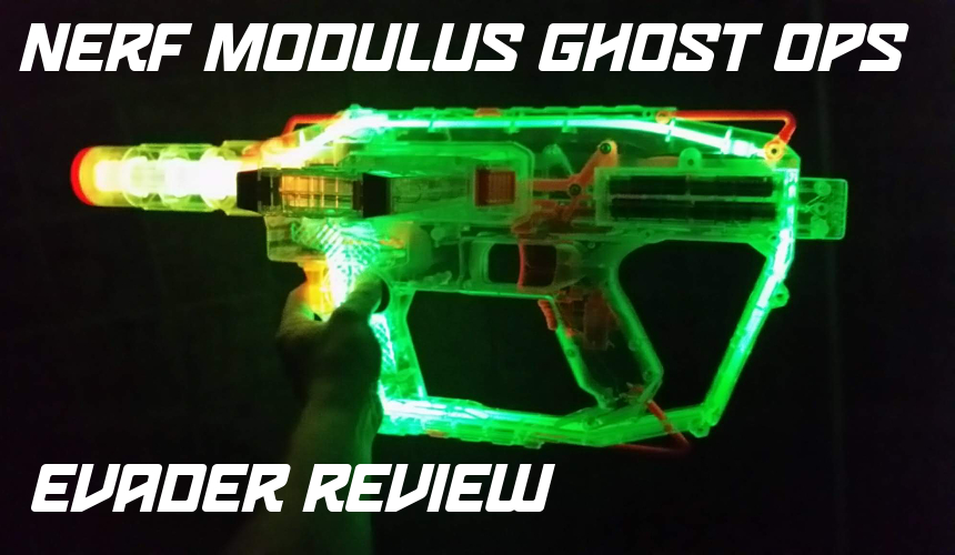 Nerf Modulus Ghost Ops Evader Review | Blaster Hub
