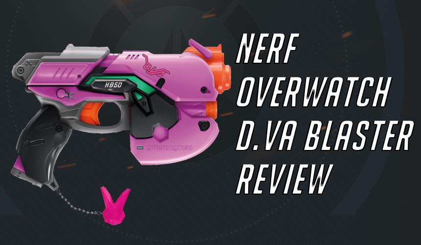 Nerf Rival Overwatch D Va Blaster Review   Blaster Hub