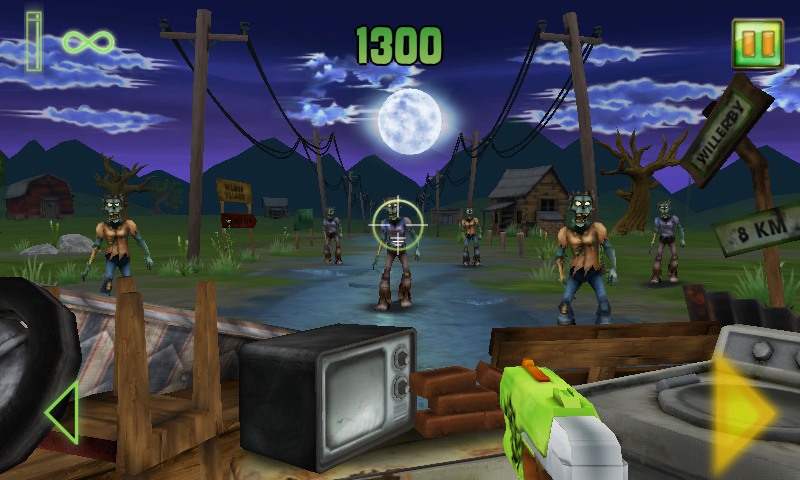 Zombie Strike Game Screenshot | Nerf Website Game