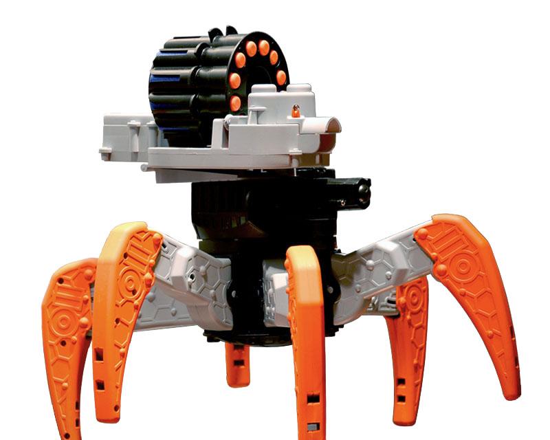 Toys For 9 Year Old Boys 2014 : Nerf combat creature attacknid movement blaster hub
