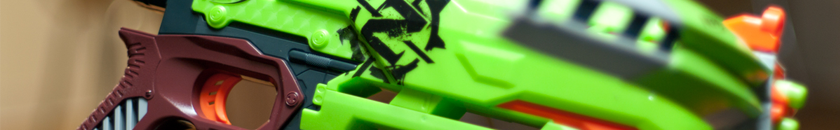 Nerf Zombie Strike Crossfire | Header