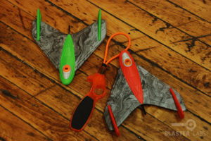 Sky Gliderz |Green and Red | Zing Toys