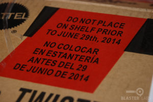 BOOMco Delivery Box | Do Not Place on Shelf Prior to June 29th, 2014