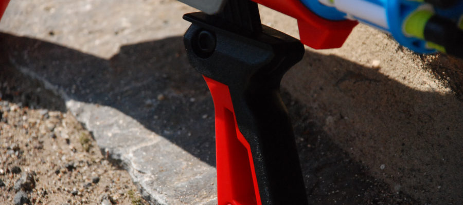 Twister Spinner handle trigger pull