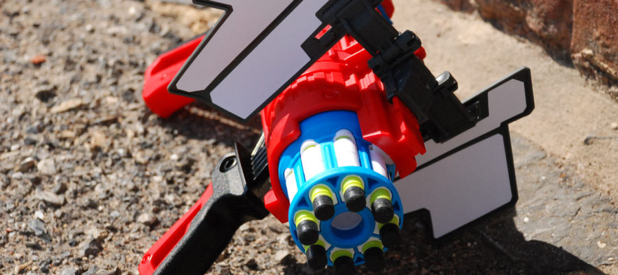Twister Spinner front view shield open