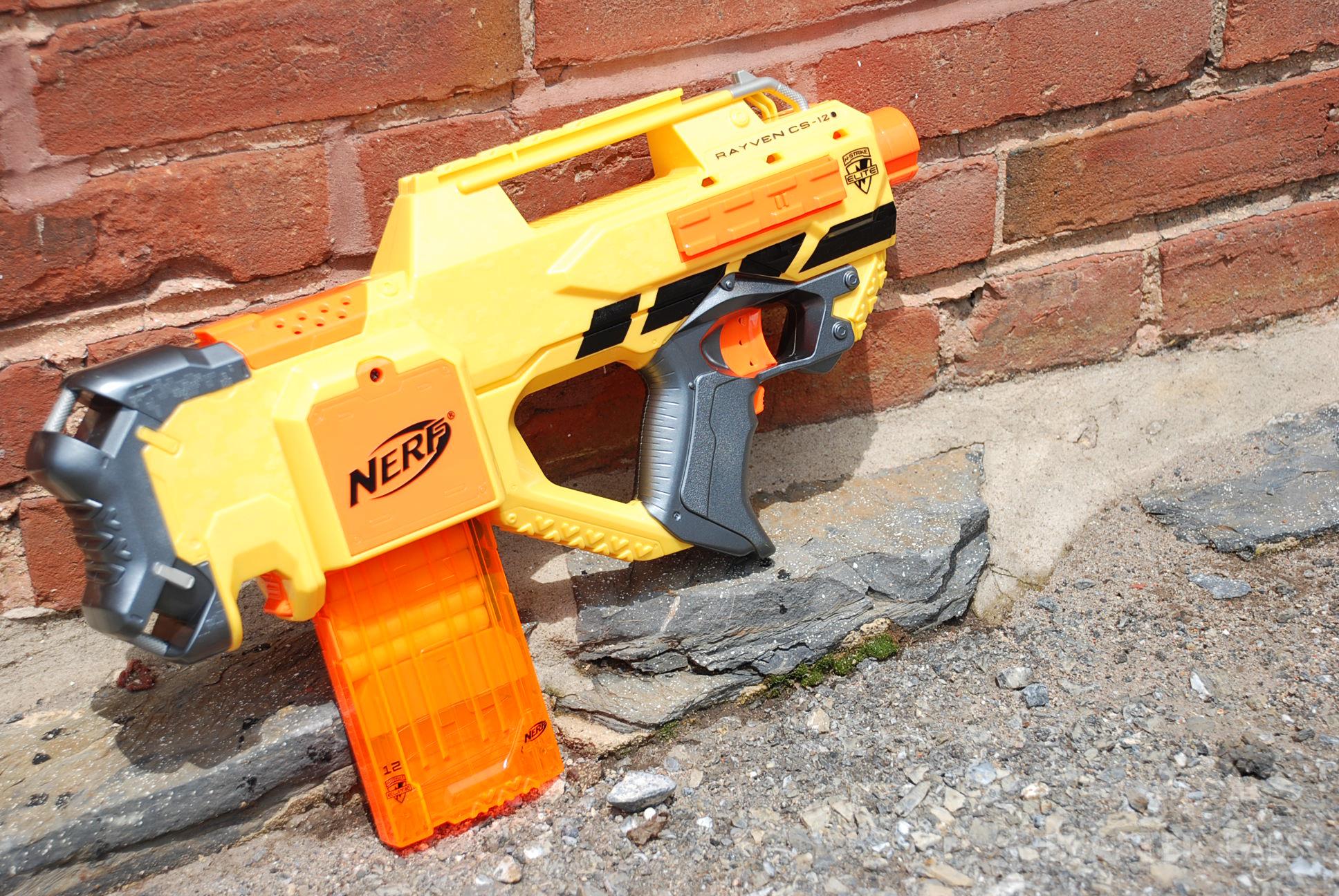 nerf n strike elite rayven cs 12 stinger review blaster hub