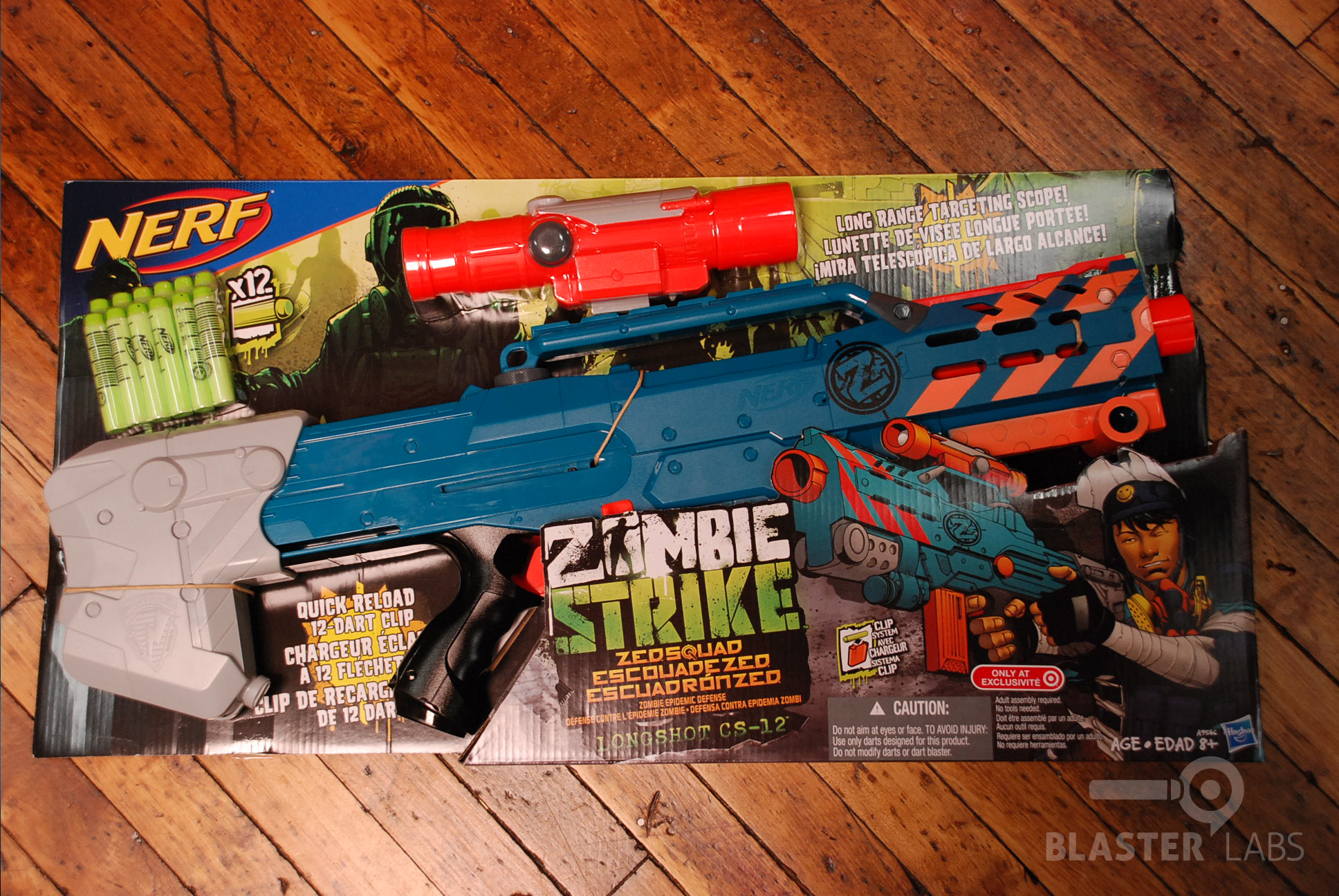 Kids and Family · Toys. Hasbro Nerf N-Strike Longshot CS-6