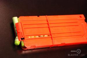 Nerf Longshot CS-12 Darts Bent in Clip