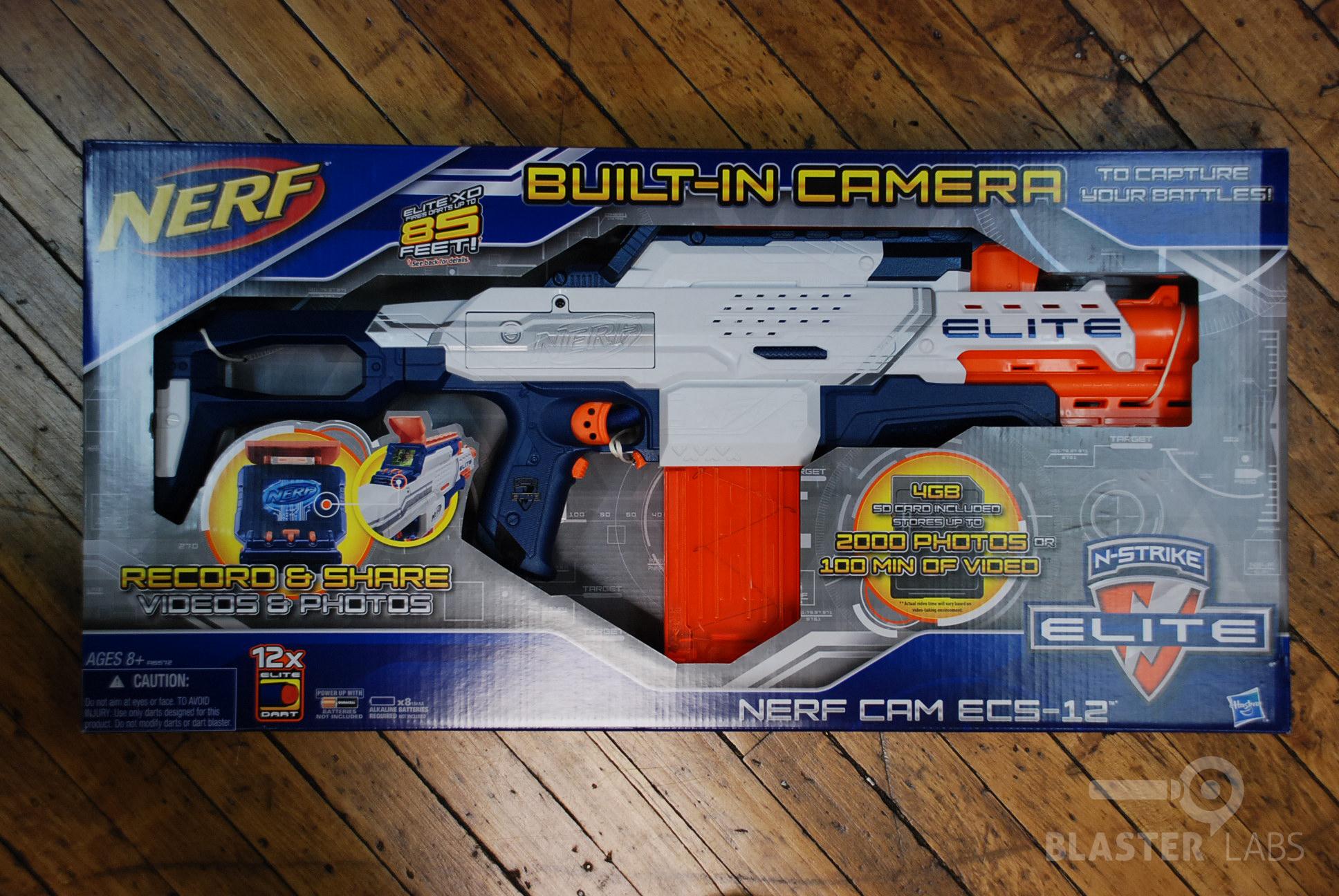 N Strike Elite Nerf Cam ECS 12 19