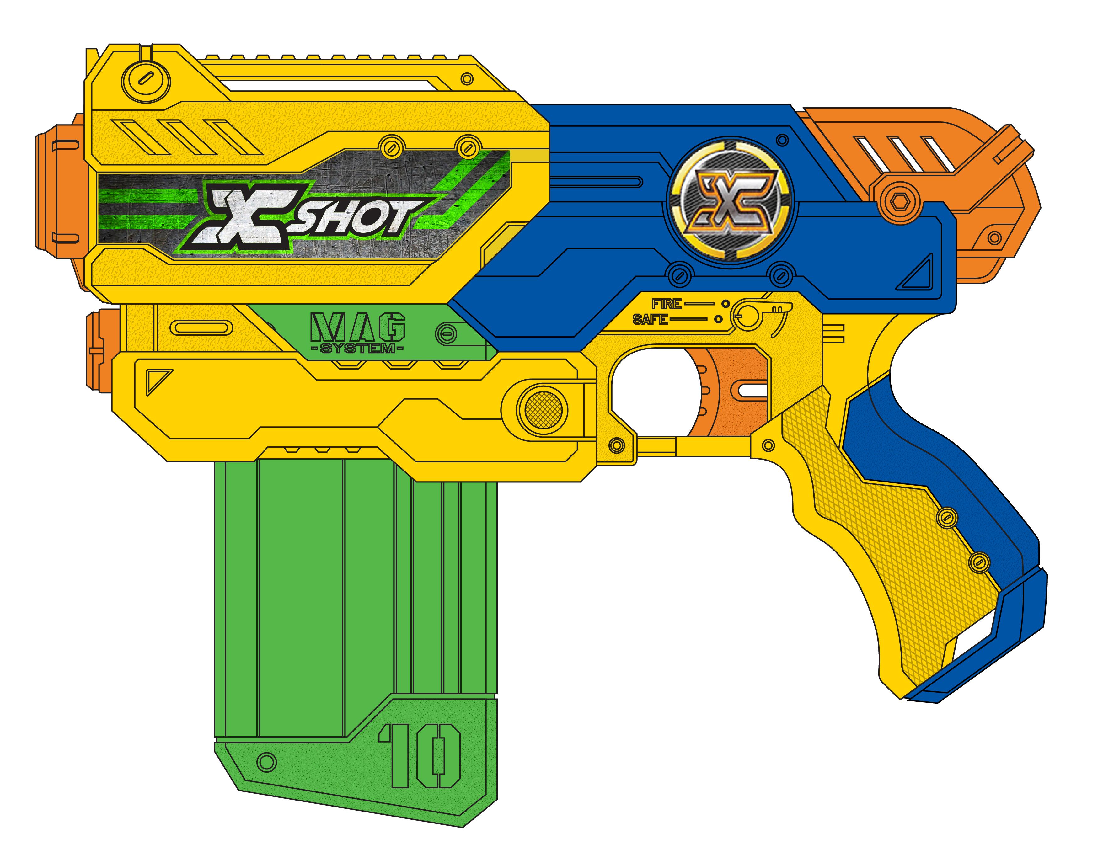 Nerf Gun Arsenal 20141222 - Xshot Clip ...