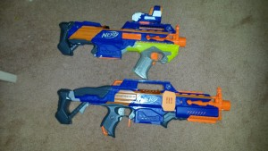 Next to a standard Rapidstrike.