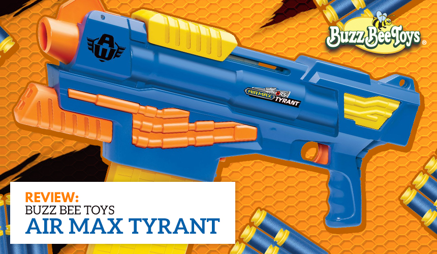Air Max Tyrant - Buzz Bee Toys - Header
