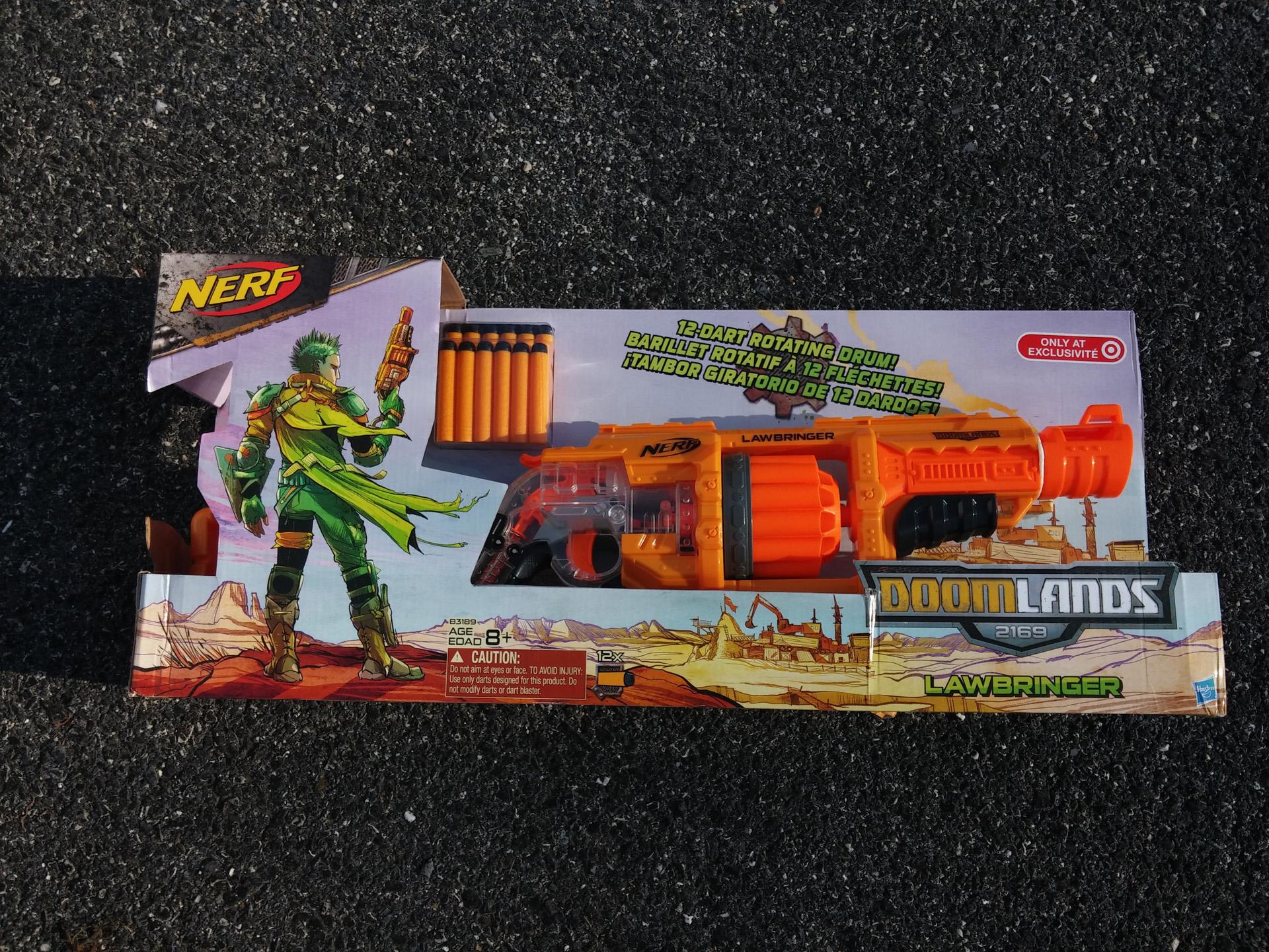 Nerf Doomlands Lawbringer - Design (1)