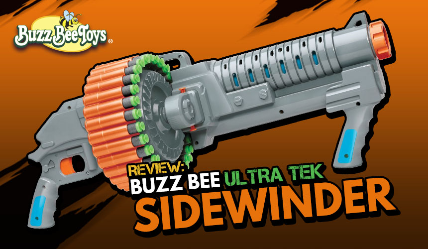 Ultra Tek Sidewinder - Buzz Bee - Header