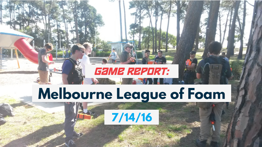 Game Report Melbourne League of Foam 17-4-16