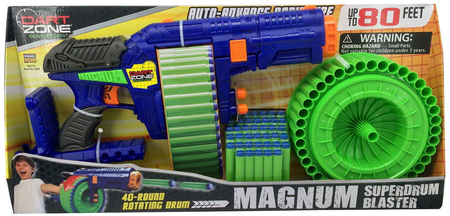 Dart Zone Magnum Package