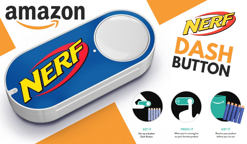 Amazon Dash Nerf - Header