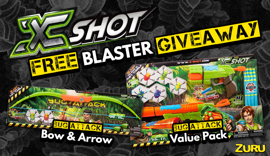 XShot Blaster Giveaway | Header