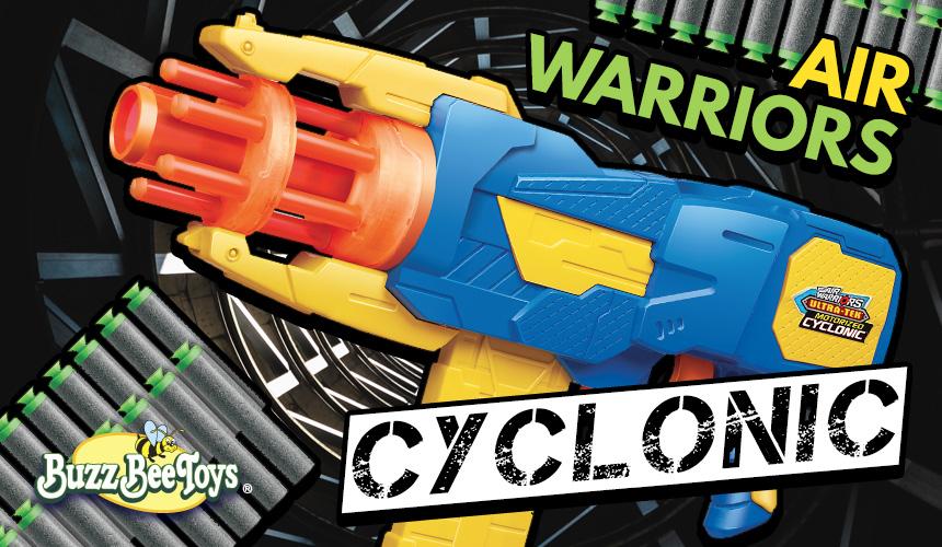 Buzz Bee Air Warriors Cyclonic   Header