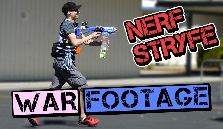Nerf Wars and Teamwork