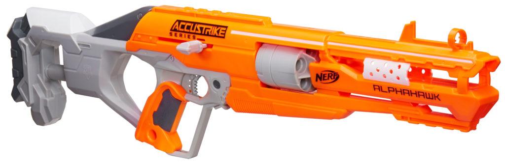 Nerf Accustrike Alphahawk Blaster