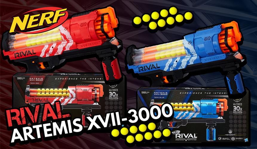 Rival Artemis XVII-3000 | Header