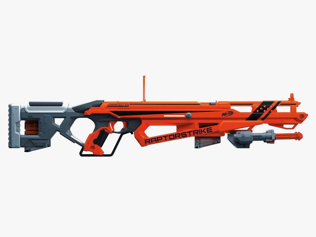 how to make a accurate nerf scope