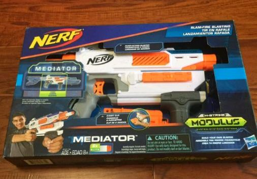 A Baidu user has posted an image of an unreleased Modulus Nerf blaster  known as the Mediator. After analysing this image, here is all the  information we ...