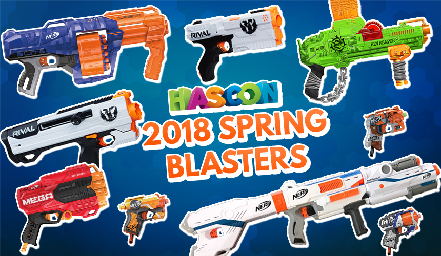 Nerf News: 2018 Spring Blasters – Official Product Details