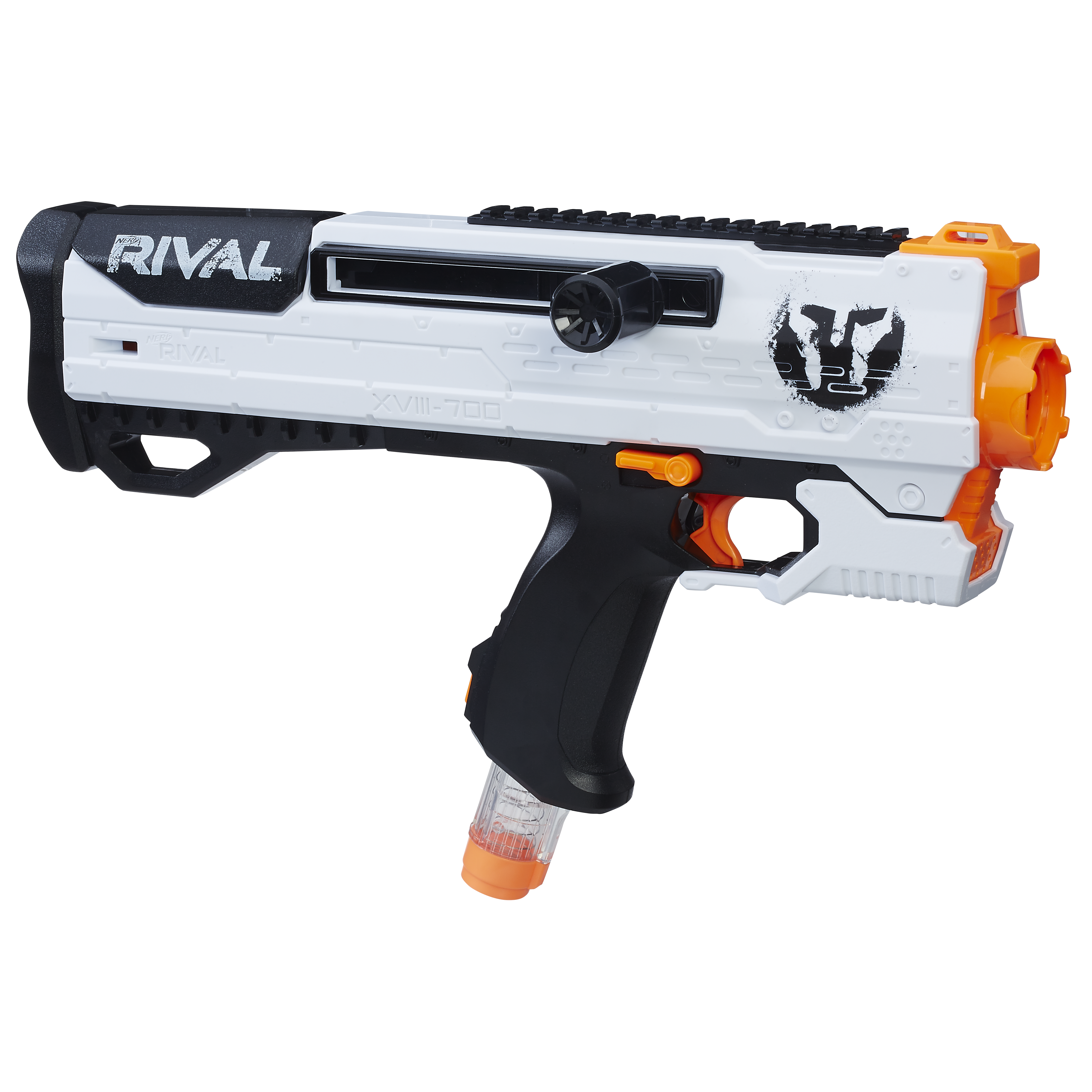 the Phantom Corps Helios is exactly like the Rival Apollo except it features bolt action priming It s believed that the Helios is Nerf s solution to
